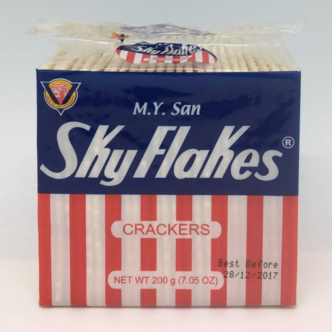 C005P M.Y. San Brand - Sky Flakes Crackers 200g - 40 pkt/1ctn - New Eastland Pty Ltd - Asian food wholesalers