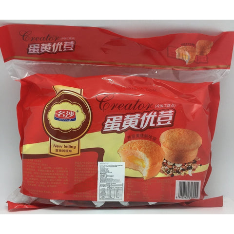 C006AT Ming Sha Brand - Chinese Egg Toast Cake 360g - 12 bags /1ctn - New Eastland Pty Ltd - Asian food wholesalers
