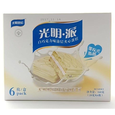 C015AW TBD Brand - White Chocolate flavour 168g -TBD/CTN - New Eastland Pty Ltd - Asian food wholesalers