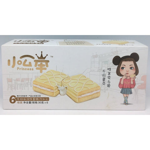 C021BM Princess Brand - Soft Wafers Milk Flavour 30g x 6 - 16 box /1ctn - New Eastland Pty Ltd - Asian food wholesalers