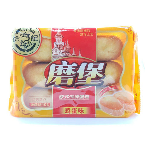 C024BE He Fu Ji Brand - Soft French Bread Egg Flavour 195g - 20 bags /1ctn - New Eastland Pty Ltd - Asian food wholesalers