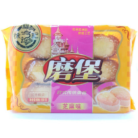 C024BS He Fu Ji Brand - Soft French Bread Sesame Flavour 195g - 20 bags /1ctn - New Eastland Pty Ltd - Asian food wholesalers