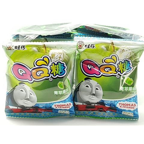 C052A WAN WAN Brand - QQ lollies (APPLE) -125g - 24 bags / 1CTN - New Eastland Pty Ltd - Asian food wholesalers