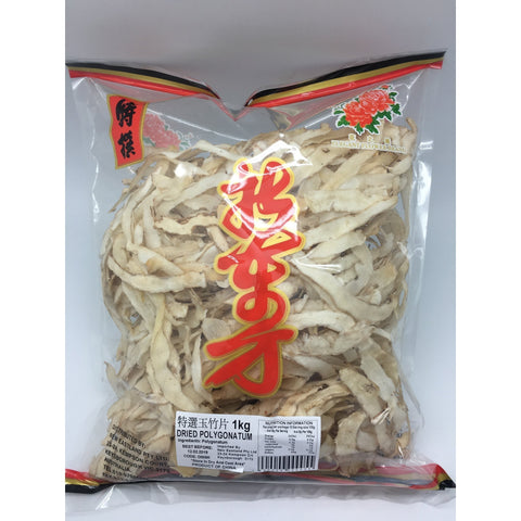 D005K New Eastland Pty Ltd - Dried Polygonatum 1kg -  25 bags / 1CTN - New Eastland Pty Ltd - Asian food wholesalers