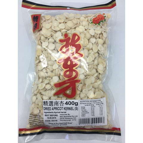 D021M New Eastland Brand - Dried Apricot Kernel (S) 400g - 25 bags / 1CTN - New Eastland Pty Ltd - Asian food wholesalers