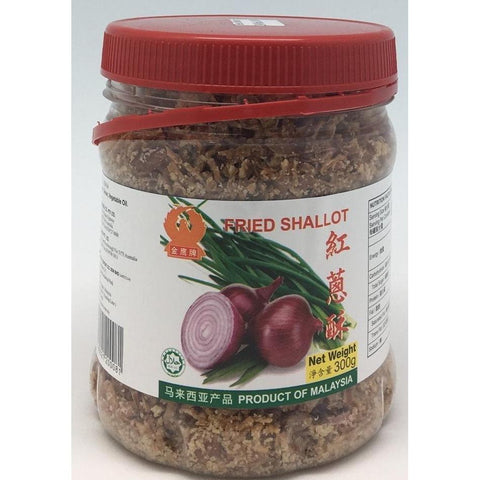 D100M Eagle Brand - Fried Shallots 300g - 24 jar / 1 CTN - New Eastland Pty Ltd - Asian food wholesalers