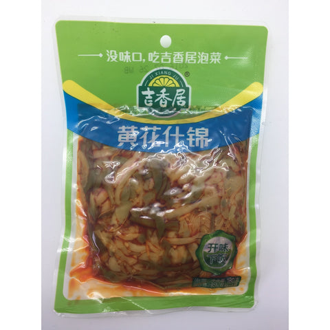 D124L Preserved Assorted Day-Lily 180g - 30 bags / 1 CTN - New Eastland Pty Ltd - Asian food wholesalers