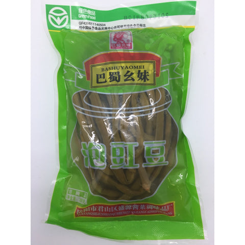 D125B Bashuyaomei Brand - Preserved Cowpea 350g - 30 bags / 1CTN - New Eastland Pty Ltd - Asian food wholesalers