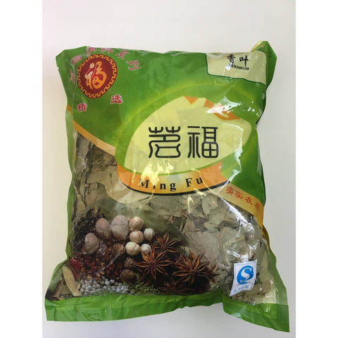 D149L Ming Fu Brand - Five Spices Leaves 500g - 40 bags / 1CTN - New Eastland Pty Ltd - Asian food wholesalers