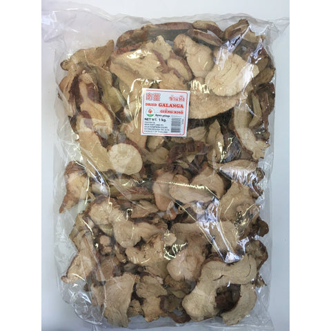 D153K Lotus Brand - Dried Galanga 1kg - 10 bags / 1CTN - New Eastland Pty Ltd - Asian food wholesalers