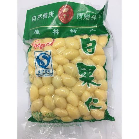 F004S Xiang Gang  Brand - Ginko Nut 250g - 48 bags / 1 CTN - New Eastland Pty Ltd - Asian food wholesalers