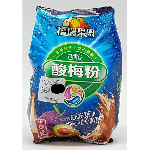 PD009 TBD Brand - Instant sour plum drink 300g - tbd bags/ 1 CTN - New Eastland Pty Ltd - Asian food wholesalers