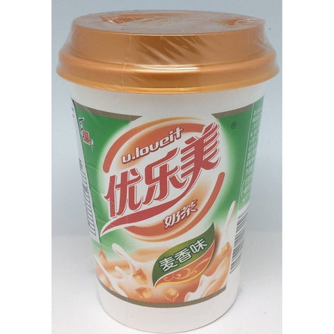 I003M U.Loueit Brand - Instant Milk Tea Drink Malt Flavour 80g - 30 cup / 1 CTN - New Eastland Pty Ltd - Asian food wholesalers