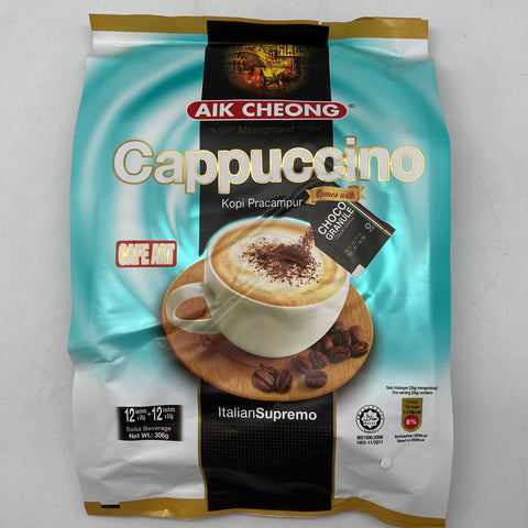 I007AC Aik Cheong - Cappuccino Coffee Instant 25gx12 - 20 bags /ctn