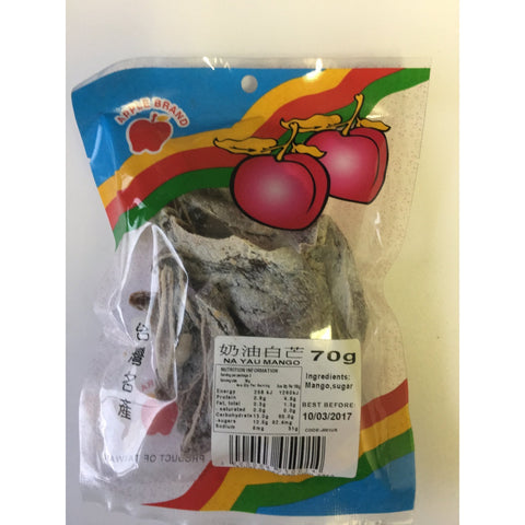 J001US Apple brand - Na Yau Mango 70g - 10 packet / 1 Bag - New Eastland Pty Ltd - Asian food wholesalers