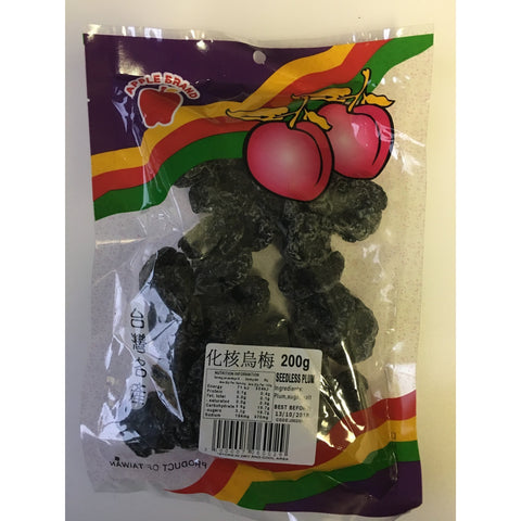 J002SM Apple brand - Seedless Plum 200g - 10 packet / 1 Bag - New Eastland Pty Ltd - Asian food wholesalers