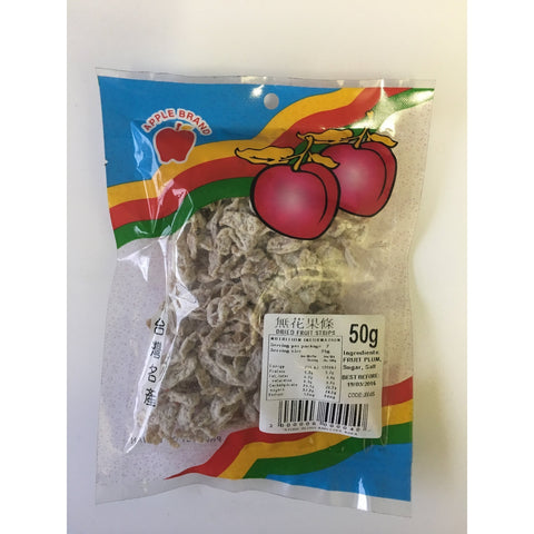 J004S Apple brand -Dried Fruit Strips 50g - 10 packet / 1 Bag - New Eastland Pty Ltd - Asian food wholesalers