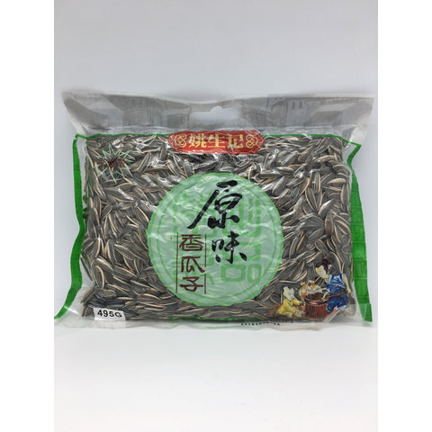 J053 Yao Sheng Ji brand- Roasted Sunflower Seeds 495g - 8 bags / 1 CTN - New Eastland Pty Ltd - Asian food wholesalers