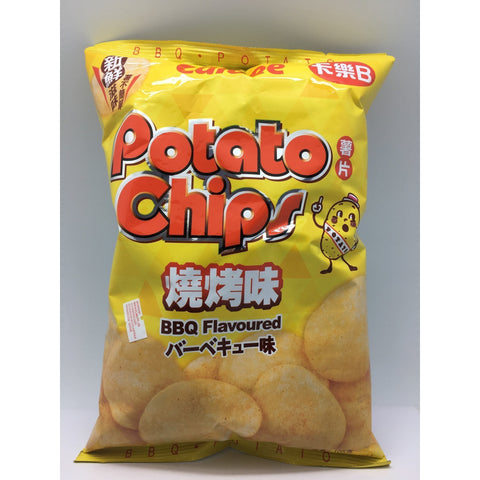 J072BL Calbee - Potato Chips (BBQ Flavour) 105g - 16 bags  / 1 CTN - New Eastland Pty Ltd - Asian food wholesalers
