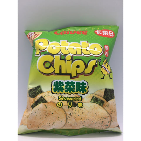 J072S Calbee - Potato Chips (Seaweed Flavour) 55g - 20 bags / 1 CTN - New Eastland Pty Ltd - Asian food wholesalers
