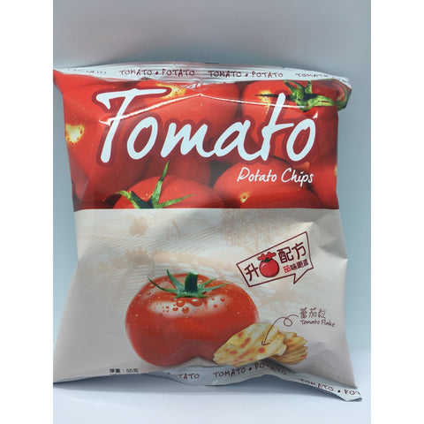 J072T Calbee - Potato Chips (Tomato Flavour) 55g - 20 bags  / 1 CTN - New Eastland Pty Ltd - Asian food wholesalers