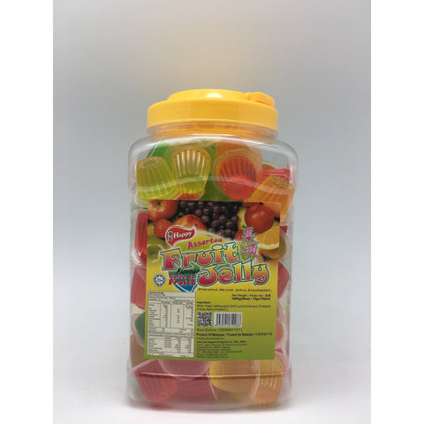 J075J Happy brand- Jelly 16g x 100pc - 6 Jar / 1CTN - New Eastland Pty Ltd - Asian food wholesalers