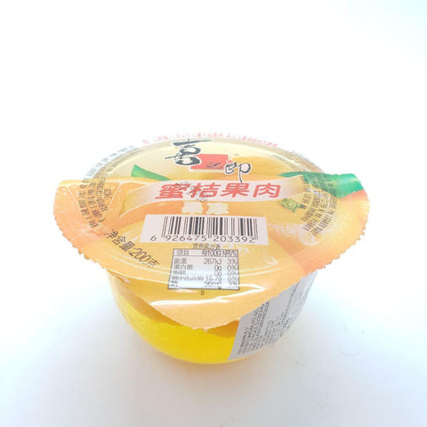 J084D Xi Zhi Lang brand- Jelly 200g - 24 Cup / 1CTN - New Eastland Pty Ltd - Asian food wholesalers