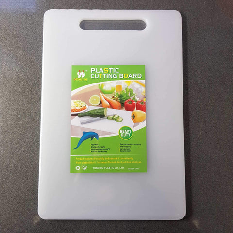 KP8876/8878/8837 - White Plastic Chopping board - New Eastland Pty Ltd - Asian food wholesalers