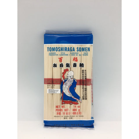 N013 Tomoshiraga Somen Brand - Dried Noodle 400g - 48 bags / 1CTN - New Eastland Pty Ltd - Asian food wholesalers