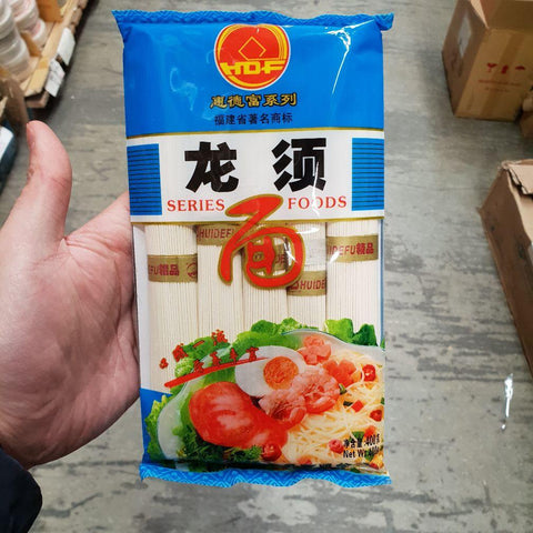 N016TR Loong Xu Brand - Dried Noodle 400g - TBD bags / 1CTN - New Eastland Pty Ltd - Asian food wholesalers