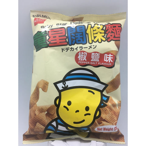 N022CP Baby Star brand - Dodekai Ramen Pepper Salt flavour 90g - 16 bags / 1CTN - New Eastland Pty Ltd - Asian food wholesalers