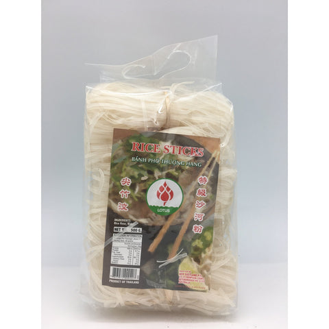 N037S Lotus Brand - Rice Stick Bundle Noodles 500g - 30 bags / 1CTN - New Eastland Pty Ltd - Asian food wholesalers