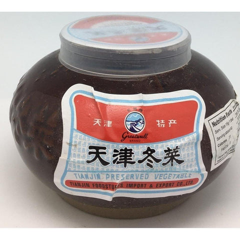 P004 Tian Jin Brand - Preserved Vegetable 600g - 18 jar / 1 CTN - New Eastland Pty Ltd - Asian food wholesalers