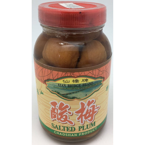 P006 Xian Bridge Brand - Salted Plum 320g - 24 jar / 1 CTN - New Eastland Pty Ltd - Asian food wholesalers