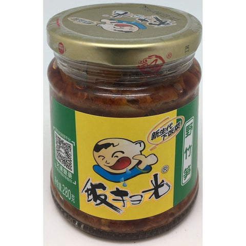 P009B Fan Sao Guang brand - Pickled Bamboo 280g - 12 jar / 1 CTN - New Eastland Pty Ltd - Asian food wholesalers