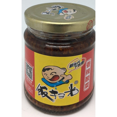 P009S Fan Sao Guang brand - Pickled Sour Vegetables 280g - 12 jar / 1 CTN - New Eastland Pty Ltd - Asian food wholesalers