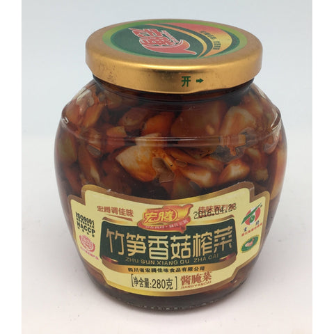 P010WB Hong Teng brand  - Pickled Vegetable 280g - 12 jar / 1 CTN - New Eastland Pty Ltd - Asian food wholesalers