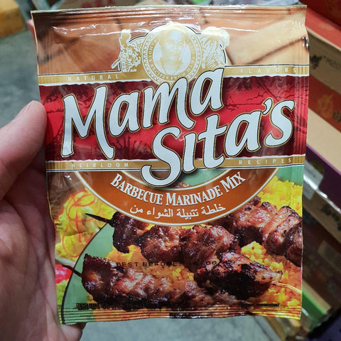 PD004 Mama Sitas Brand - (Barbecue) 50g -  72 bags / 1CTN - New Eastland Pty Ltd - Asian food wholesalers