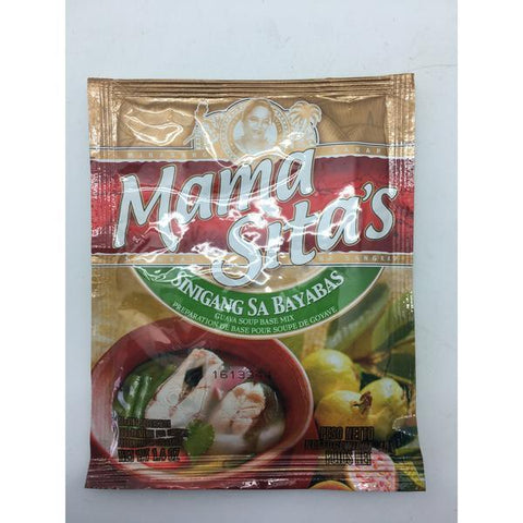 PD004G Mama Sitas Brand - Guava Soup Base Mix 40g -  72 bags / 1CTN - New Eastland Pty Ltd - Asian food wholesalers