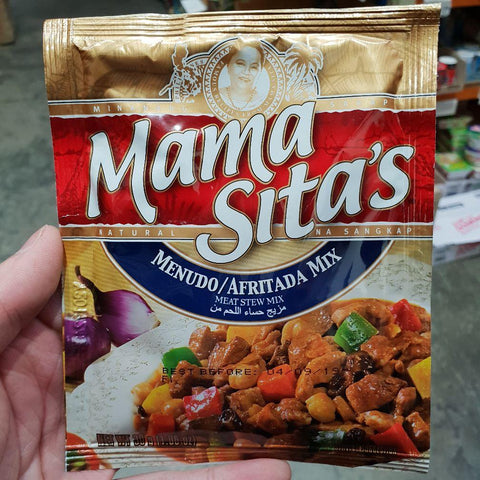 PD004MS Mama Sitas Brand - (Afritada) Meat Stew Mix 30g -  72 bags / 1CTN - New Eastland Pty Ltd - Asian food wholesalers