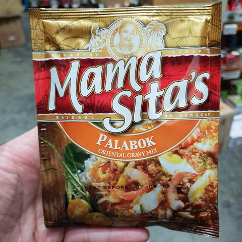 PD004O Mama Sitas Brand -(Palabok) Oriental Gravy Mix 57g -  72 bags / 1CTN - New Eastland Pty Ltd - Asian food wholesalers