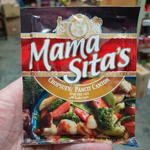 PD004SF Mama Sitas Brand - (Pancit Canton)Stir Fry Mix 40g -  72 bags / 1CTN - New Eastland Pty Ltd - Asian food wholesalers
