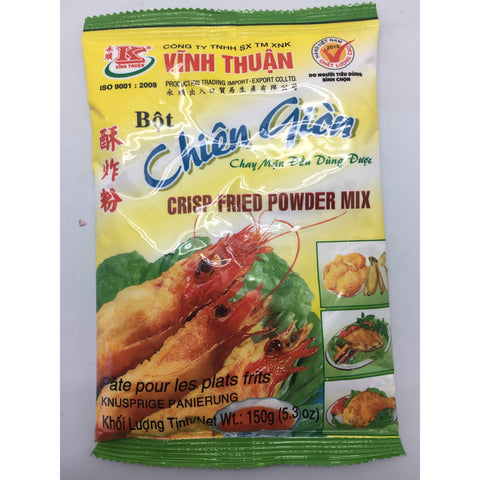 PD011C Vinh Thuan Brand -Crisp Fried powder Mix 150g - 60 bags / 1CTN - New Eastland Pty Ltd - Asian food wholesalers