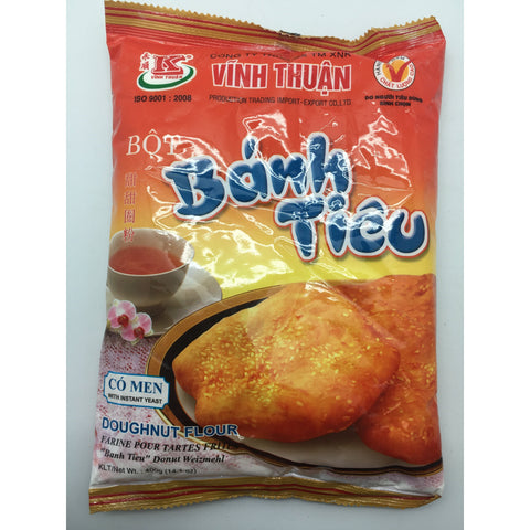 PD011E Vinh Thuan Brand - Doughnut Flour 400g - 20 bags / 1CTN - New Eastland Pty Ltd - Asian food wholesalers