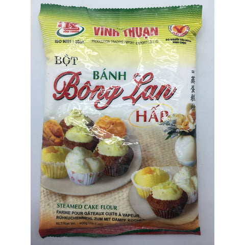PD011K Vinh Thuan Brand -Steamed Cake Flour 400g - 20 bags / 1CTN - New Eastland Pty Ltd - Asian food wholesalers