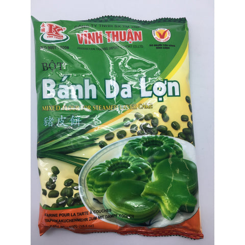 PD011L Vinh Thuan Brand -Mixed Flour for Steamed Layer Cake 400g - 20 bags / 1CTN - New Eastland Pty Ltd - Asian food wholesalers