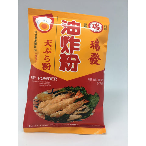 PD012 Zui Fa Brand - Fry Powder 250g - 100 bags / 1 CTN - New Eastland Pty Ltd - Asian food wholesalers