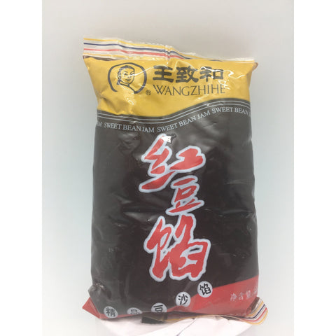 PD059R WangZhiHe brand - Sweet Red Bean Paste 500g -  20 bags / 1CTN - New Eastland Pty Ltd - Asian food wholesalers