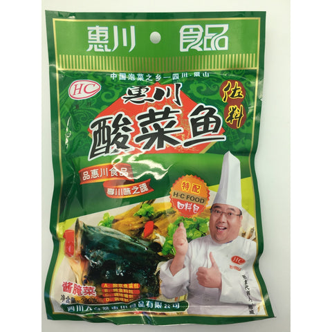 Q009W Hai Chuan - Soup Base For Fish 300g - 30 bags / 1 CTN - New Eastland Pty Ltd - Asian food wholesalers