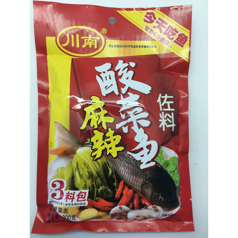 Q011F Chuan Nan Brand - Soup Base For Fish 300g - 30 bags / 1 CTN - New Eastland Pty Ltd - Asian food wholesalers